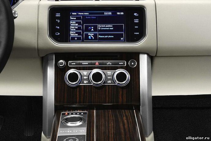 Новый Range Rover 2013