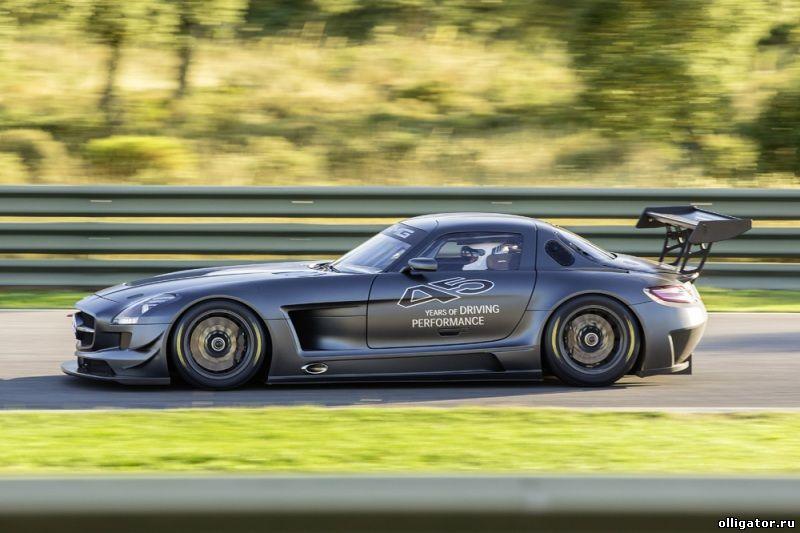 Новый Mercedes SLS AMG GT3 «45th Anniversary»