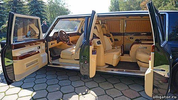 Лимузин для президента Владимира Путина - ЗИЛ 4112Р