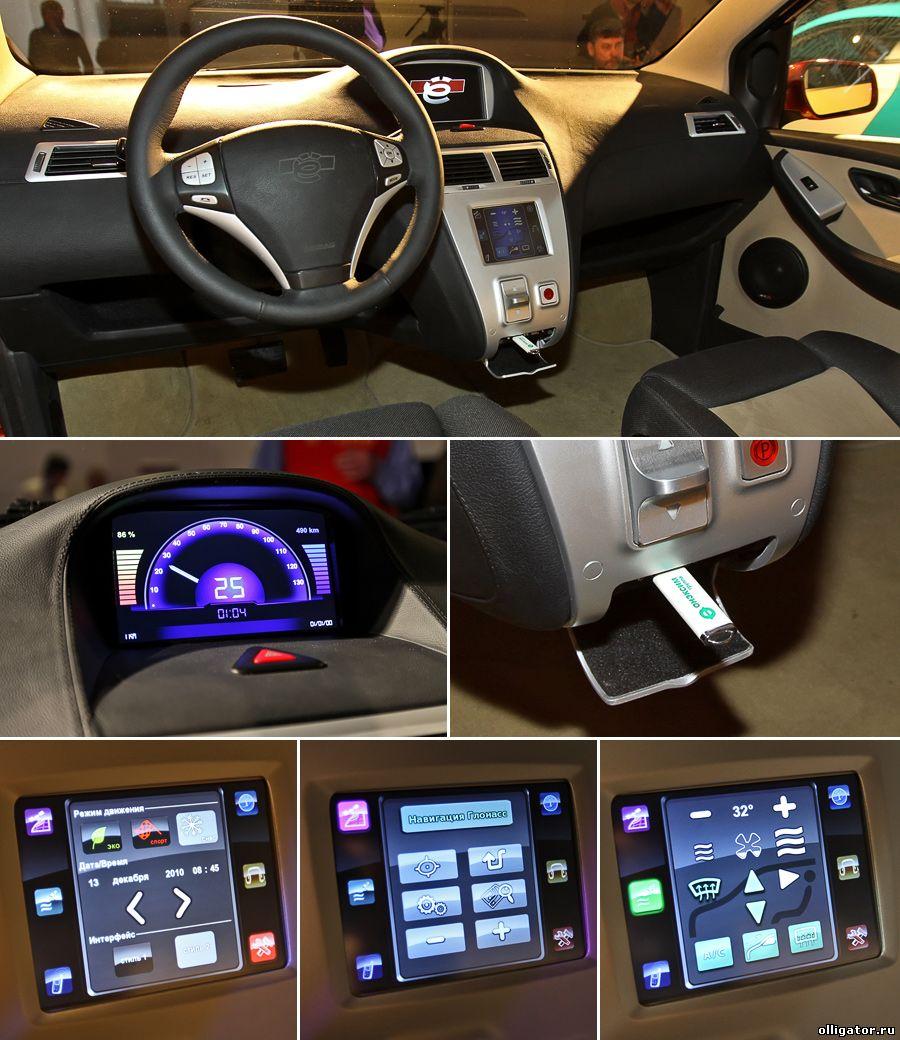 Тест-драйв Ё-мобиля состоится в 2013 году