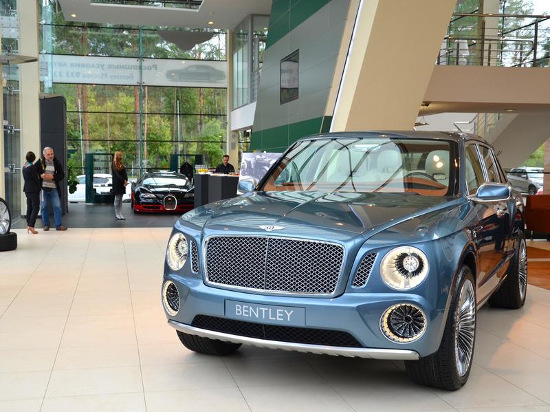 Внедорожник Bentley