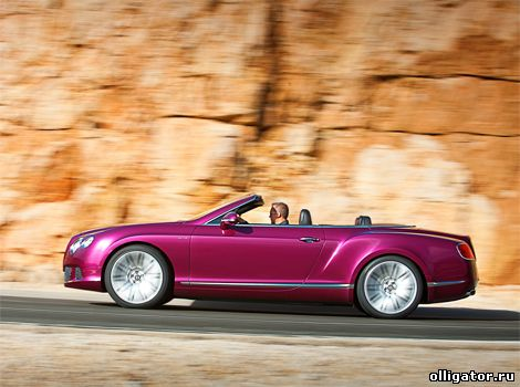 Кабриолет Bentley Continental GTC Speed Convertible