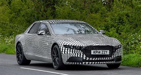 Новый седан Aston Martin Rapide