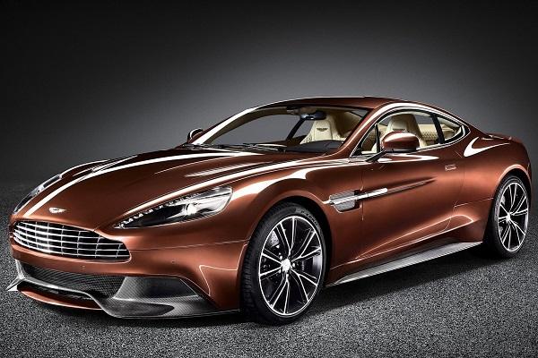 Суперкар Aston Martin Vanquish
