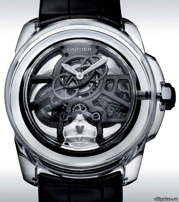 Прозрачные часы Cartier ID Two фото