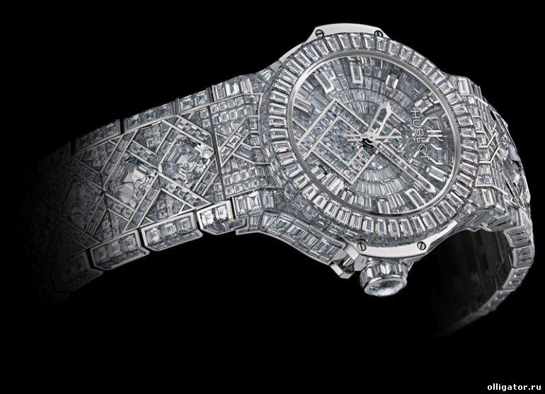Бриллиантовые часы Hublot стоимостью $5000000