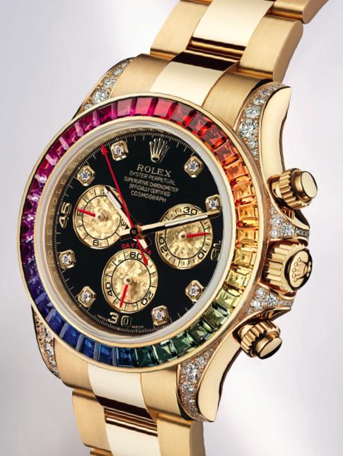 Часы Rolex Cosmograph Daytona Rainbow