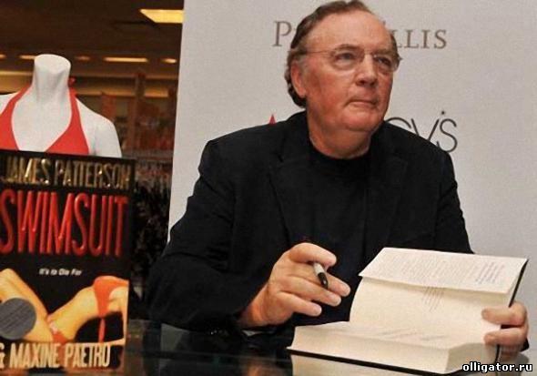 Самый высокооплачиваемый писатель Джеймс Паттерсон фото