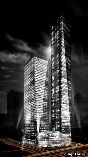 Офисы в небоскребе Capital Group ОКО