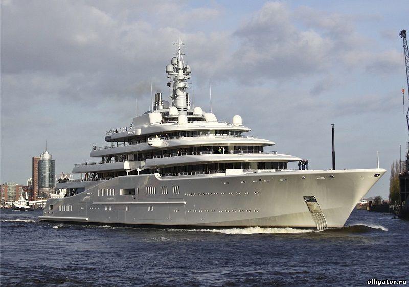 Яхта Eclipse - яхты Абрамовича