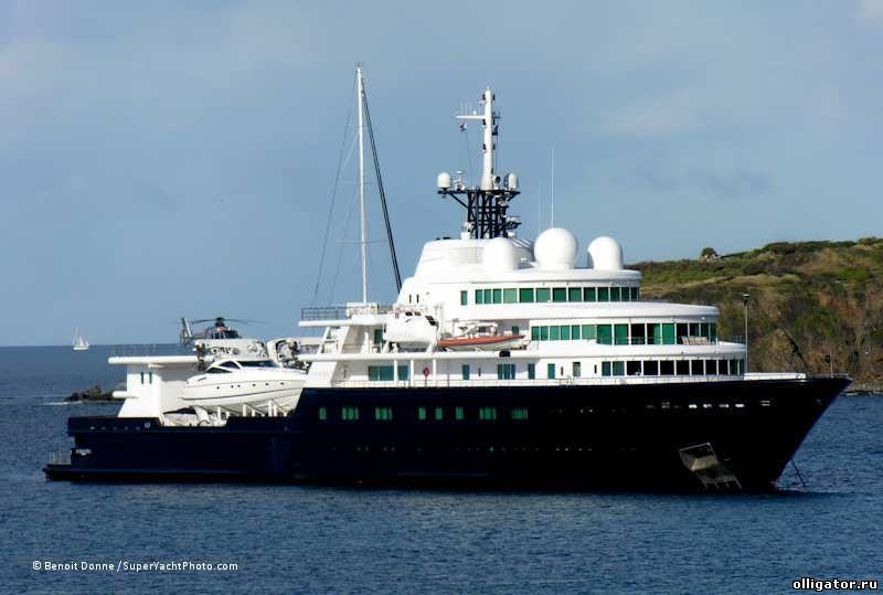 Яхта Le Grand Bleu - яхты Абрамовича