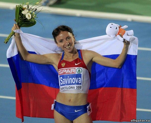 Мария Савинова - олимпийская чемпионка - фото
