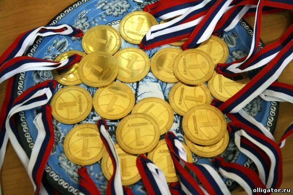 Сколько золота в медалях Олимпиады 2012 - фото