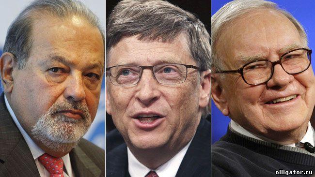 Сколько за год заработали самые богатые люди планеты?
