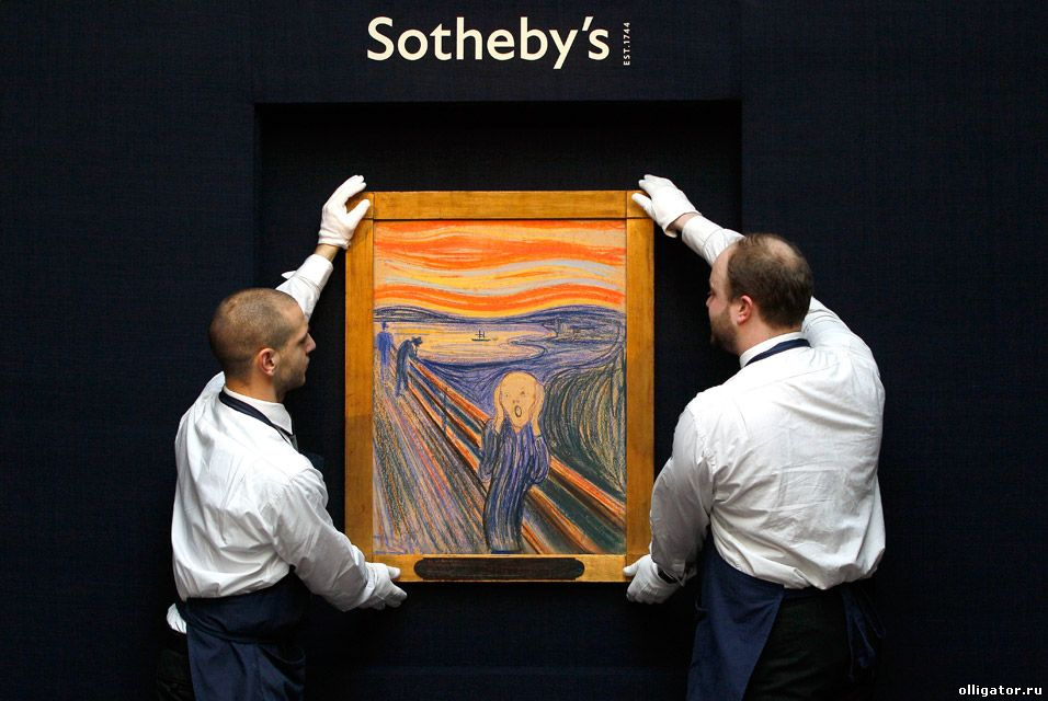 Крик Sotheby's