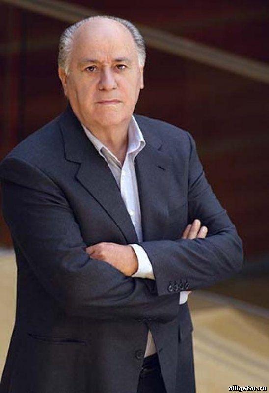 Амансио Ортега - самые много зарабатывающие люди