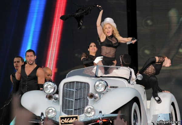 Мадонна - концерт в Санкт-Петербурге - фото