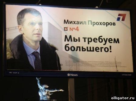 Михаил Прохоров партия