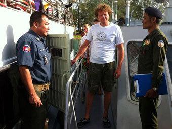 Сергей Полонский арестован в Камбодже