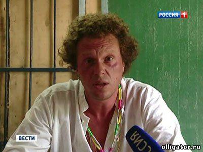 Сергей Полонский в тюрьме Камбодже