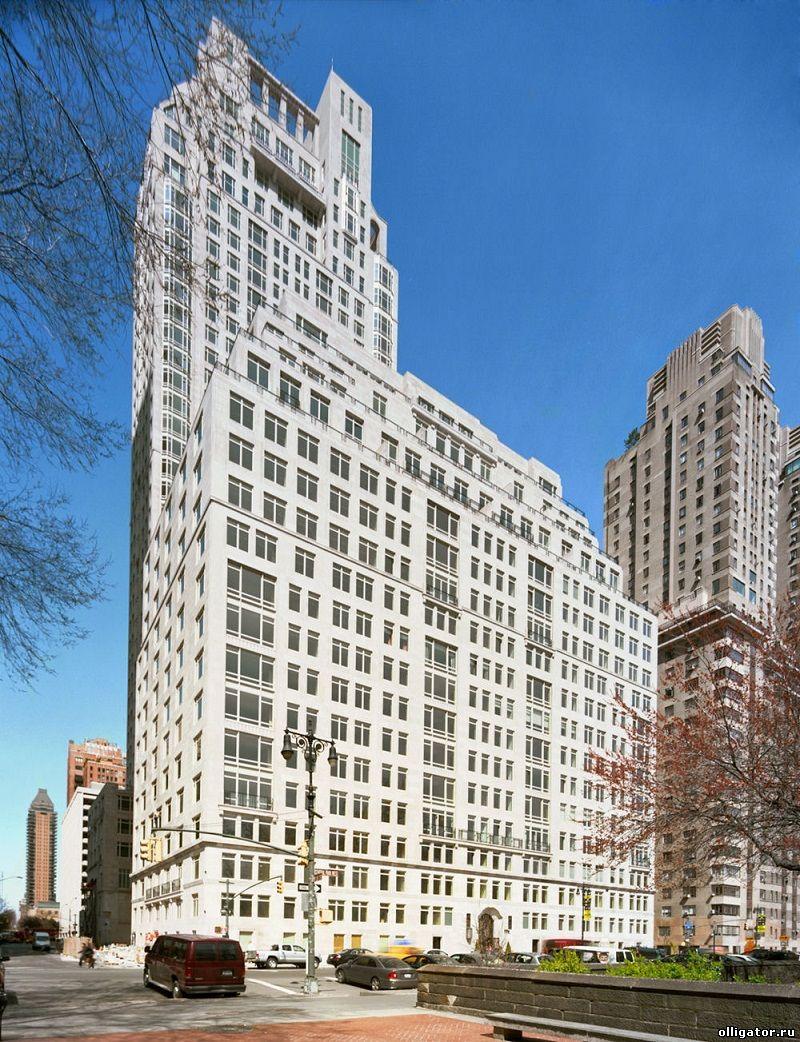 15 Central Park West - самые дорогие квартиры и особняки