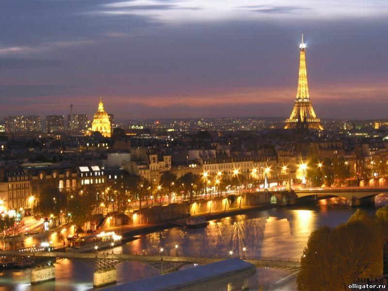 Париж - самые дорогие отели в мире