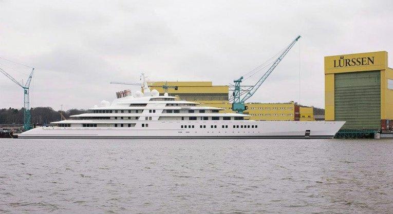 Яхта Azzam