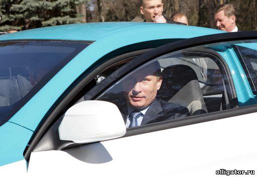 Путин и Ё-мобиль