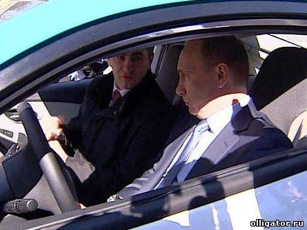 Путин Ё-мобиль