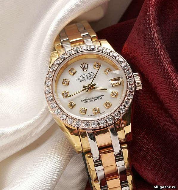 Женские часы ROLEX. Купить копии часов ROLEX в