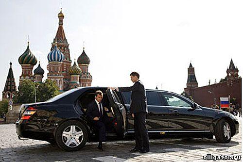 Автомобиль Медведева