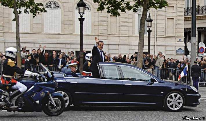 Автомобиль Саркози