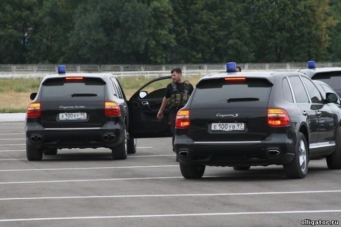 Автомобиль Рамзана Кадырова