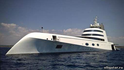 Яхта А фото