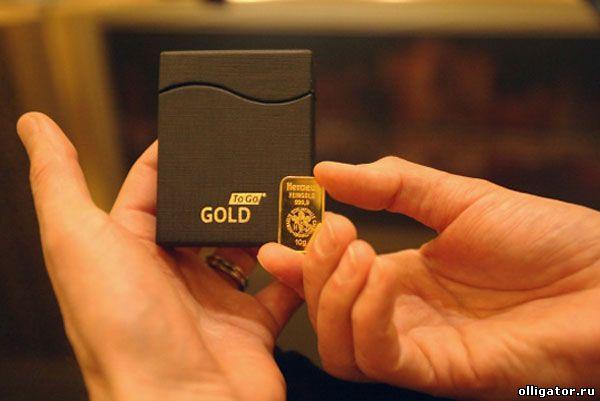 Золотой банкомат