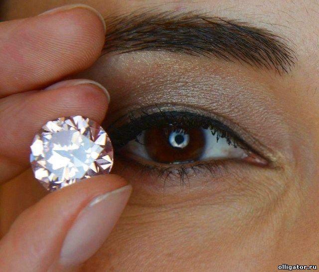 Марсианский розовый бриллиант